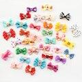 Loja Armi 20 Pcs Handmade Pet Grooming Acessórios Produtos Dog Bow 6011026 Pequena Flor de Cabelo Arcos Para Cães Encantos Presente