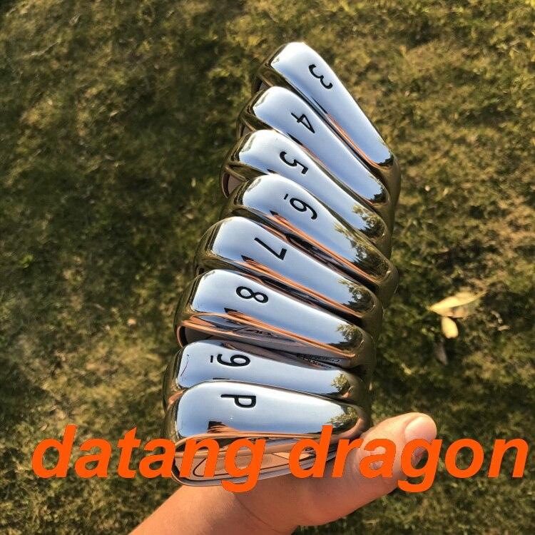 2018 golf fers 718 forgé datang dragon AP2 fers (3 4 5 6 7 8 9 p) avec dynamic gold S300 acier arbre 8 pcs fer de golf clubs
