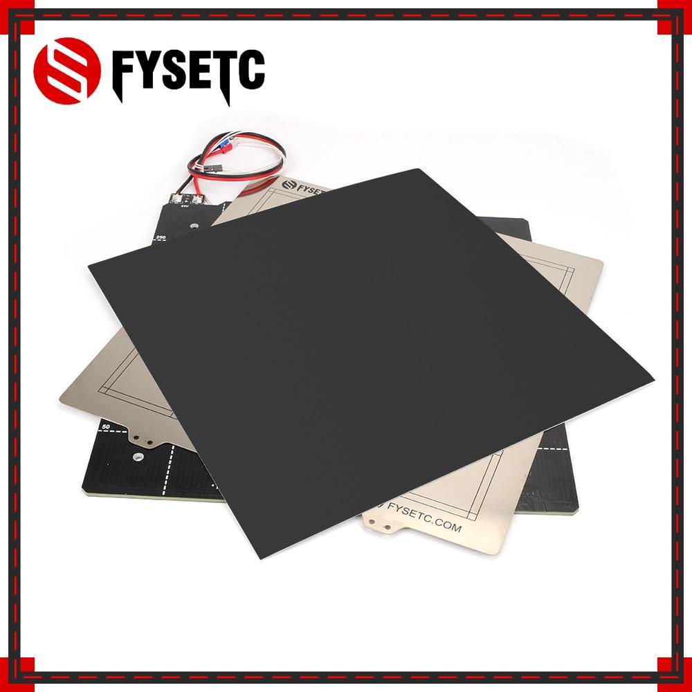 Imprimante 3D lit chauffant magnétique 24 V Kit de thermistance de câblage avec tôle d'acier 300*300mm pour les pièces d'imprimante 3D CR10 CR-10 de créalité