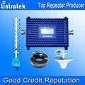 Repetidor de Sinal 4G LTE 1800 MHz GSM Repetidor Lintratek GSM 1800 Sinal De Reforço GSM 1800 Repetidor 70dBi Ganho LCD amplificador S38