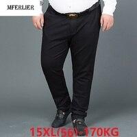 suit pants formal Men plus size big 8XL 9XL 10XL 12XL 14XL 15XL business office pants Straight oversize trousers 48 50 52 54 58