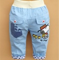 Baby Short Limited Pockets Loose Kids Free Shipping 2015 New Summer Children Trousers Boys Light Color Middle Pants B055