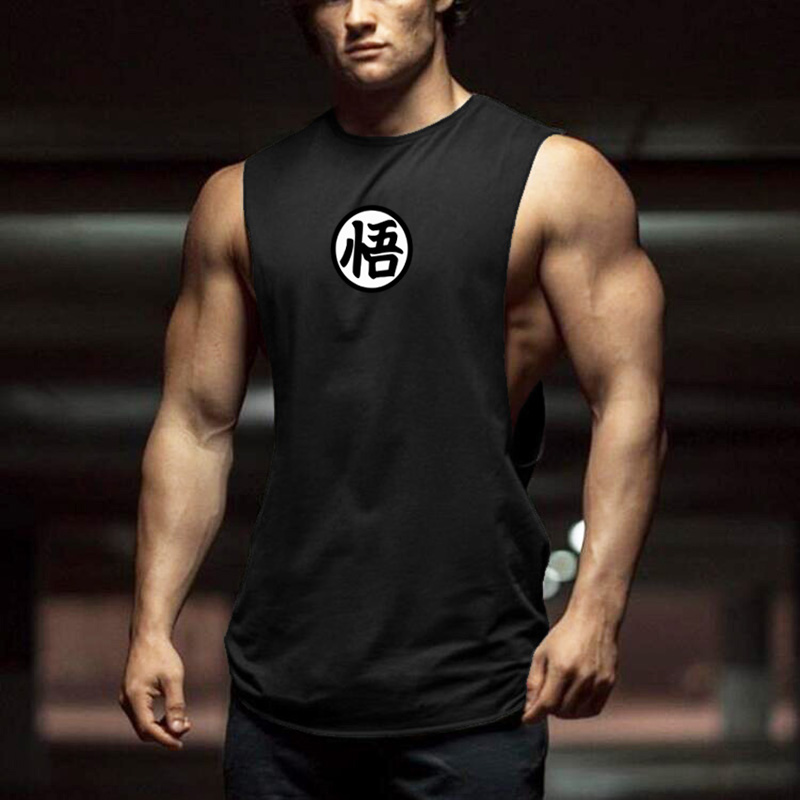 Dragon Ball Tank Tops Men 2019 summer Casual Clothes Fitness Mens cotton sleeveless shirt Funny muscle vest workout tanktop