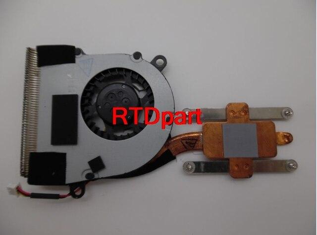 Ноутбук ПРОЦЕССОР Охлаждения Колодки Вентилятор и Радиатор Для Lenovo Для Thinkpad X121E 04W2215 4W2215