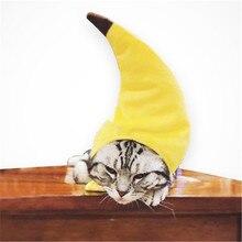 Headgear Pet-Hat Cat Funny Cute Performance-Props Festival Banana Play