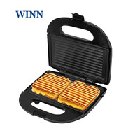 Mini Sandwich Maker electric Griddle Cuisine ware Panini plate Waffle toaster breakfast machine barbecue oven EU plug
