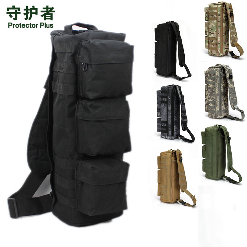 цены New 2018 Men Nylon Travel Military Cross Body Messenger Shoulder Back pack Sling Chest Airborne Molle Pack