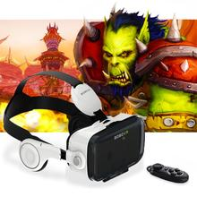 Hot! Google Cardboard Xiaozhai BOBOVR Z4 Immersive Virtual Reality Glasses BOBO VR For 4.7-6.2 inch Smartphone+ Bluetooth Gampad