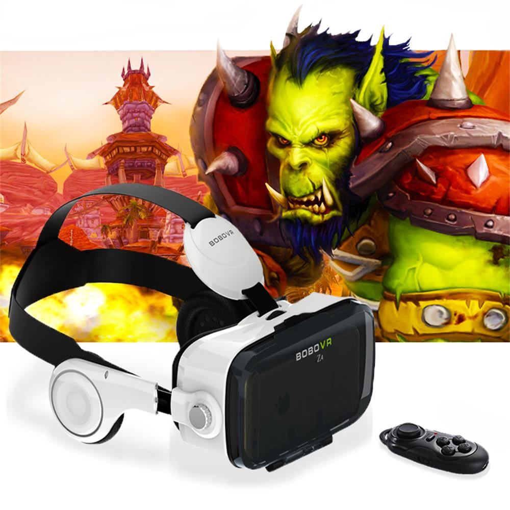 Hot! Google Cardboard <font><b>Xiaozhai</b></font> BOBOVR Z4 Immersive <font><b>Virtual</b></font> <font><b>Reality</b></font> <font><b>Glasses</b></font> <font><b>BOBO</b></font> <font><b>VR</b></font> For 4.7-6.2 inch Smartphone+ Bluetooth Gampad