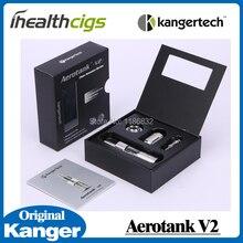 Original Kanger Aerotank V2 Atomizer Airflow Control Kagertech aerotank v2 Glass Protank cartomizer set for 510 battery 5pcs