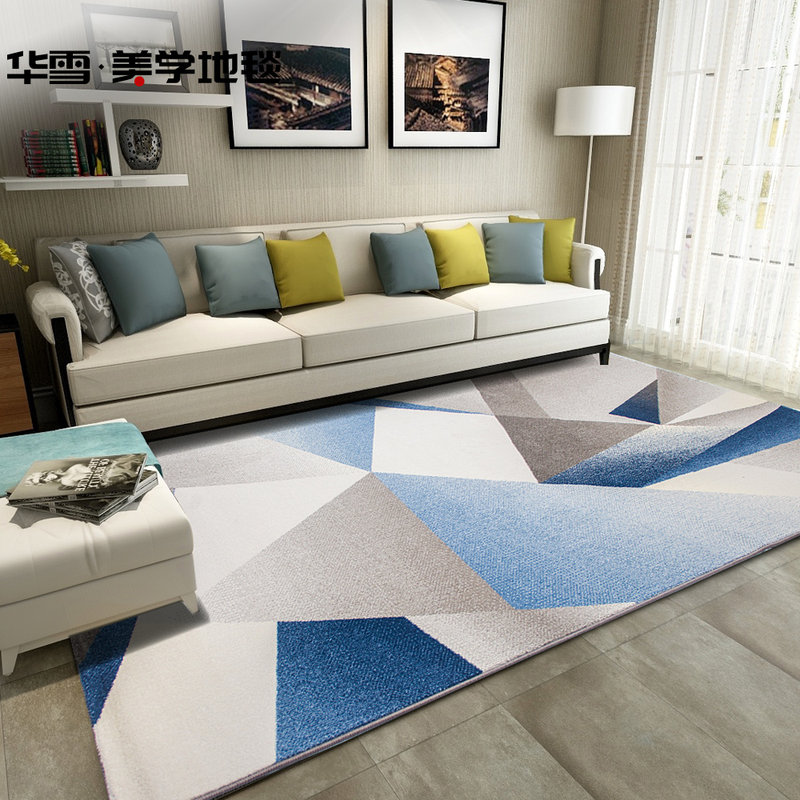 Nordic Carpets For Living Room Home Carpet Bedroom Sofa Coffee Table Rug Study Room Floor Mat Woven Polypropylene Decorative Rug