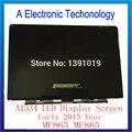 Марка Оригинальный Новый A1534 12 Дюймов ЖК-Экран Для Apple Macbook Air 12 ''2015 Год Замены