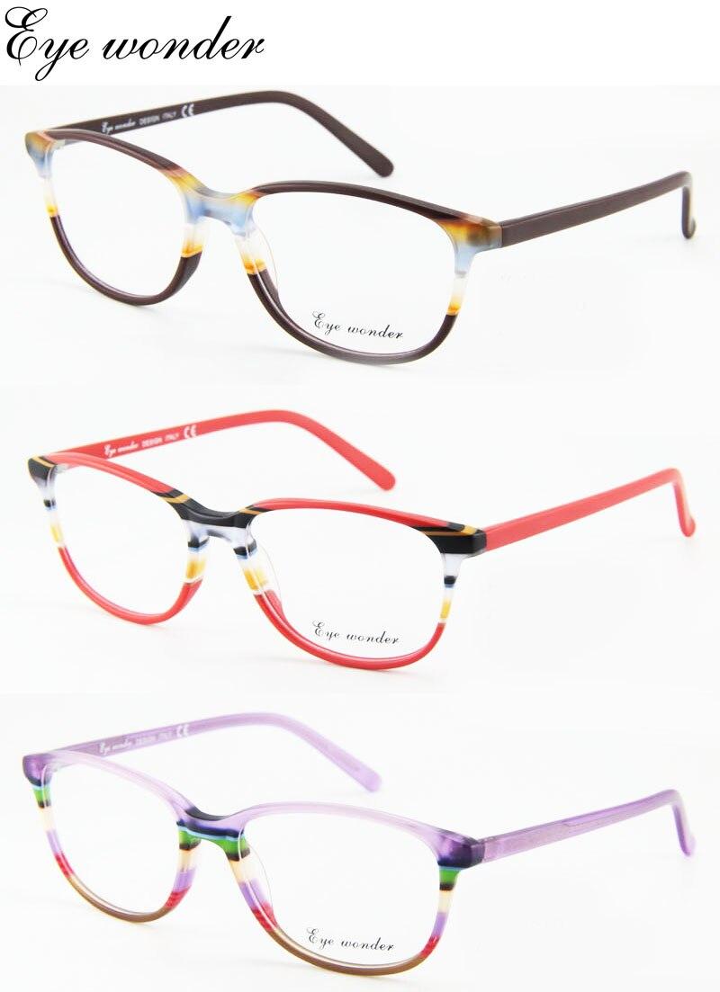 4178ff4f67 ̀ •́ Étonnant des yeux gros femmes mode acétate montures de lunettes ...