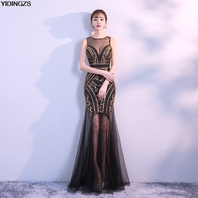 865a83cb Sequins Beading Evening Dresses Mermaid Long Formal Prom Party Dress 2019  New Style. 701 orders. US $200.00. (%). Free. Color: Please select: Color
