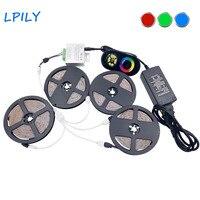 IPILY 5m 10m 15m 20m RGB LED Strip SMD 2835 Non Waterproof Rgb Led Ribbon RF