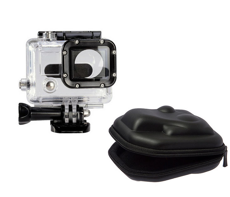 New Go pro Small Storage Camera Bag Cover Box Protective For Gopro Case For Gopro Hero