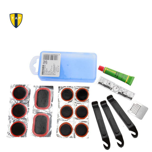 brand  bike bicycle cycling flat tire repair kit tool set kit patch rubber portable fetal