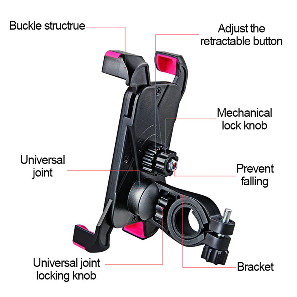 Adjustable Bicycle Phone Holder Made Of PVC Material For Universal Mobile Cell Phone 3