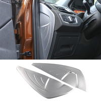 Car Styling Aluminum Alloy Accessories Dashboard Side Decorate Cover Trim For BMW F48 X1 2016 2017 X2 F47 2018