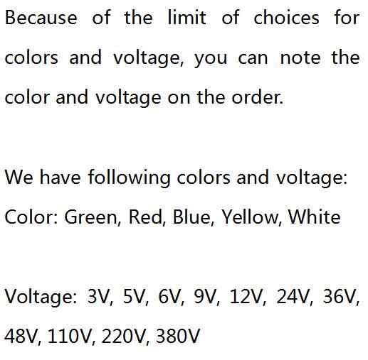 6mm LED Metal Gösterge Işığı Su Geçirmez IP67 Sinyal Lambası 3 V 5 V 6 V 9 V 12 V 24 V 110 V 220 v Kırmızı Sarı Mavi Yeşil Beyaz Pilot Mühür