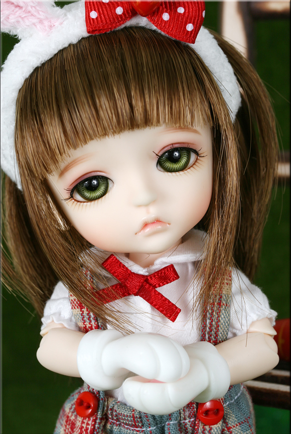1/8 scale BJD about 15cm pop BJD/SD cute Rabbit Lea LATI Resin figure doll DIY Model Toys gift.Not included Clothes,shoes,wig
