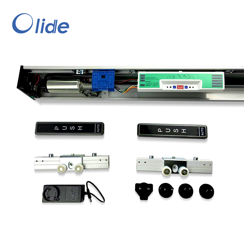 Olide Residential Automatic Sliding Door Operator,Automatic Patio Door Opener With Long Track