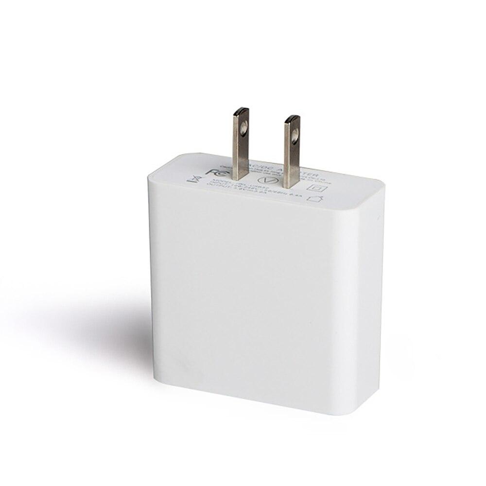 USB Charger LED Universal Untuk 3 Port Cepat 5 V 3A UNI EROPA US Plug - Aksesori dan suku cadang ponsel - Foto 5