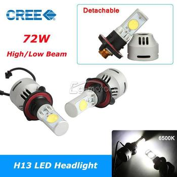 2pcs H13 36W MTG2 Auto LED Headlight Head Lamp Bulbs Kit 3200LM/2600LM