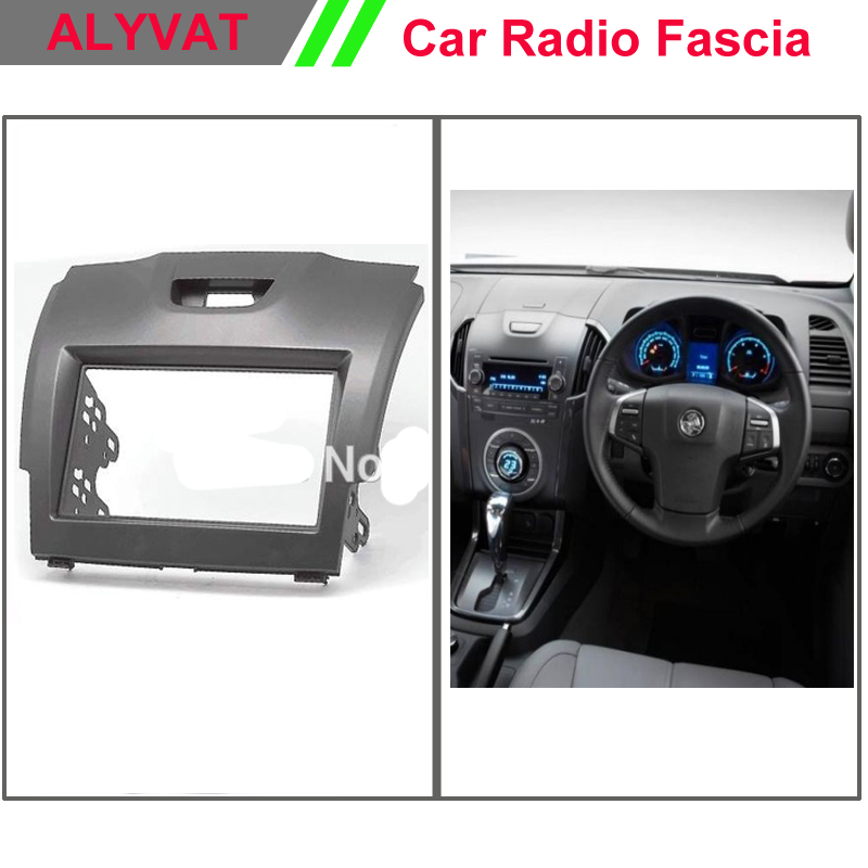Car Stereo Fascia 2 Din Frame For Chevrolet TrailBlazer//Colorado//ISUZU D-Max
