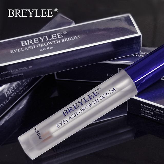 6ebc592ebb3 BREYLEE Eyelash Growth Serum New Style Eyelash Enhancer Eye Lash Treatment  Liquid Longer Fuller Thicker Eyelash Extension Makeup