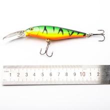 SEALURER Minnow 10g 11cm Hard Bait 10pcs Fishing Lure With Sharp Hooks Fly Fishing Bait Carp Fishing Tackle Artificial Lure