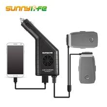 Sunnylife DJI Mavic 2 Pro/Zoom Car Charger 3 in