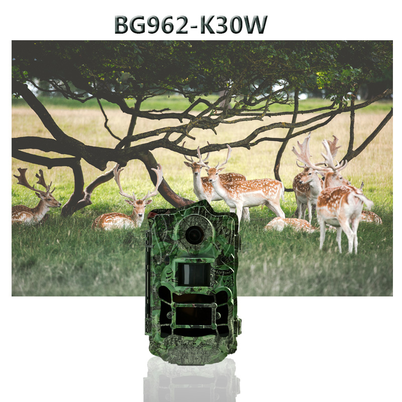 Bolyguard 30MP Hunting Camera Wide Angle 120° Trail Camera Night Vision 940nm no glow IR LED lights photo traps scouting camera image