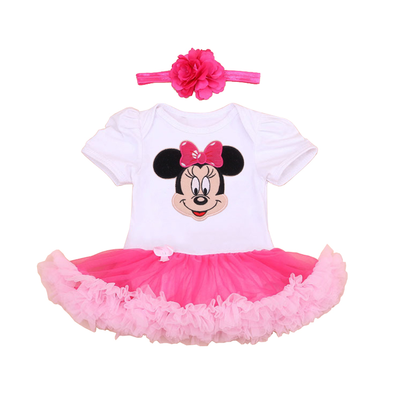 2016 baby girl dress clothes summer newborn baby party ...