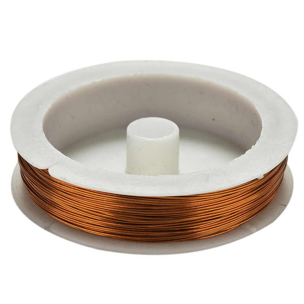 40 M Besi Kerajinan Kawat 0.5 MM Spul Lembut Diy String Perhiasan Kerajinan Logam Kawat untuk DIY Dekorasi Bunga Karangan Bunga /Jarum Jarum