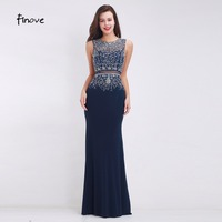 Fashion Mermaid Prom Dresses Scoop Neck Designer Prom Gowns Illusion Back Vintage Party Prom Dresses Sleeveless