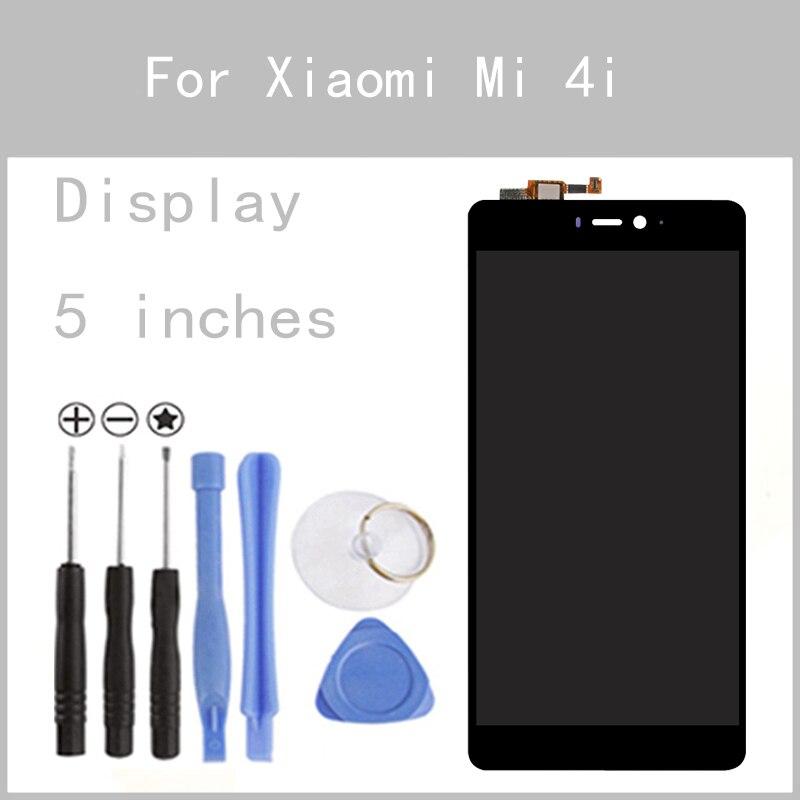 Original LCD For Xiaomi Mi 4i M4i Mi4i Display Screen Digitizer Touch Screen Glass Panel 5