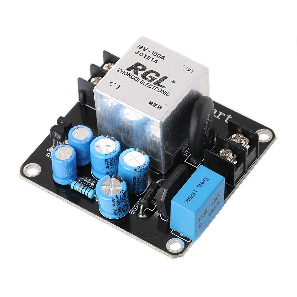 2019 New High Quality 100A 4000W High-Power Soft Start Circuit Power Board For Class A Amplifier Amp