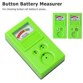 1PC przycisk z tworzywa sztucznego do naprawy zegarków monety bateria ogniwowa mocy kontroler tester narzędzie tanie i dobre opinie Inpelanyu Elektryczne GJ01452 Tester Baterii gospodarstwa domowego 3V 1 55V Household Watch Repair