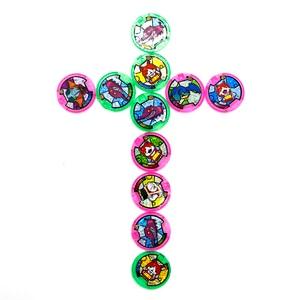 Image 3 - Japońskie Anime Yokai zegarek DX peryferyjne yo kai zegarek na rękę medale kolekcja godło zabawka