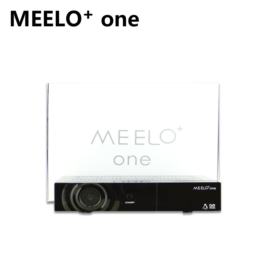 MEELO one DVB-S2 Tuner X SOLO MINI 2 Linux 750 MHz CPU Satellite Receiver Support YouTube Cccam S2 TV Box i box rs232 dvb s satellite smart sharing nagra 3 dongle black