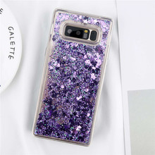 LOVEBAY Glitter Quicksand Soft TPU Case for Samsung Galaxy Note 8