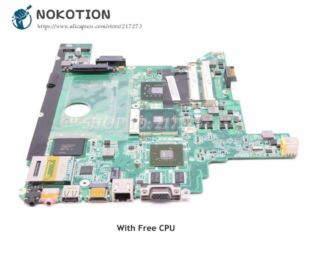 NOKOTION MBWBA06001 DA0Z06MB8D0 For Gateway NV44 NV48 NV4405H Laptop Motherboard DDR2 Free CPU G105M graphicsNOKOTION MBWBA06001 DA0Z06MB8D0 For Gateway NV44 NV48 NV4405H Laptop Motherboard DDR2 Free CPU G105M graphics