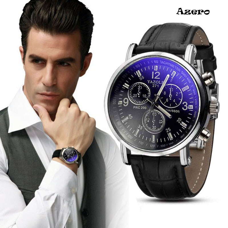 купить Relojes Hombre 2017 Luxury Fashion Crocodile Faux Leather Mens Analog Watch Watches New Mens Watches Top Brand Luxury Relogio недорого