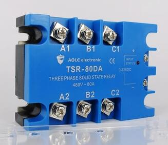 Solid state relay controlled silicon TSR-80DA DC control AC alkaline protease production under solid state fermentation