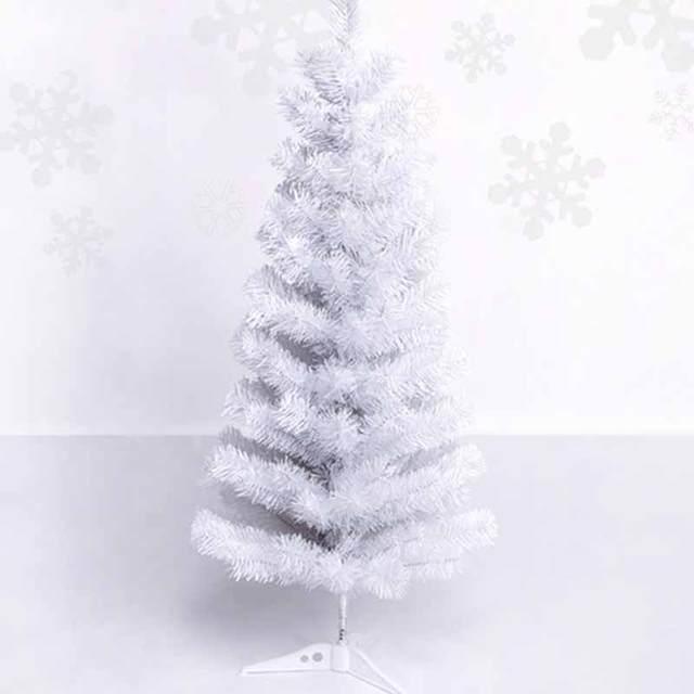 new fashion festival 07kg white mini christmas tree ornaments crafts gift decoration hot sale - White Mini Christmas Tree