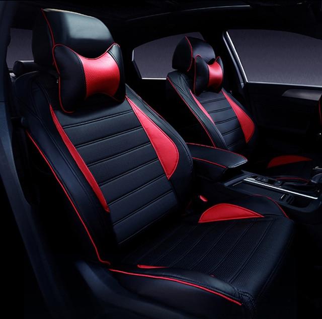 Custom Leather Car Seat Covers For Suzuki Swift Wagon