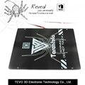TEVO Tarantula heat bed Large build area 200*280*3.5mm Black  Aluminium heat bed 3D Printer Heat bed Hot Plate