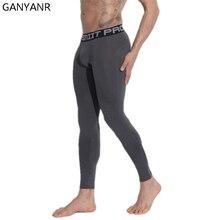цена на DESMIIT Brand Running Tights Men Sports Leggings Yoga Basketball Fitness Gym Skins Compression Sexy Jogging Pants Football 2017