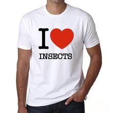 INSECTS, maglietta uomo, animali magliette, regalo 00064 T-Shirt Summer  Novelty Cartoon T Shirt